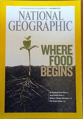 National Geographic Magazine, September 2006. Where food begins.