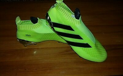 Adidas Ace 16 + pure control fg football boots. Size UK 9