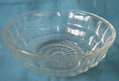 Vintage Pressed Glass Sweets Bowl 5""