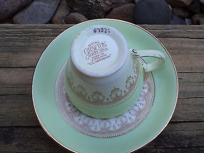 Royal Grafton cup and saucer 6753 'Clarendon'Bone China made in England