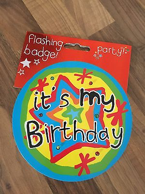 Flashing Party Badge
