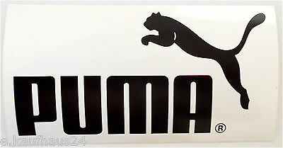 Aufkleber PUMA Logo Sportswear 80er oldschool Sticker Autocollant Decal Germany