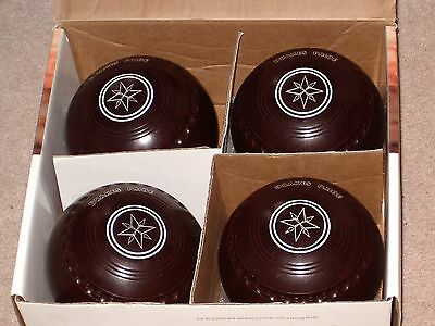 Drakes Pride Professional Bowls size 4 heavy - set of 4