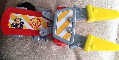 Fireman Sam Childrens Rescue Claw Toy Playset