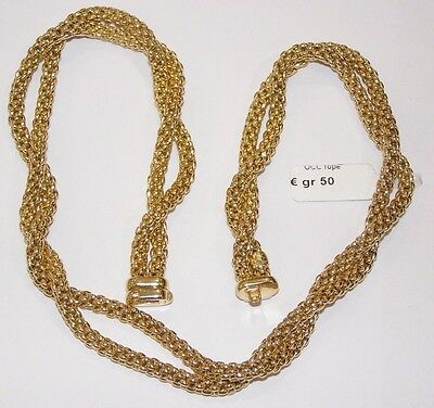COLLANA ORO 18 KT brand FOPE GOLD NECKLACE WITH Goldkette or COLLIER
