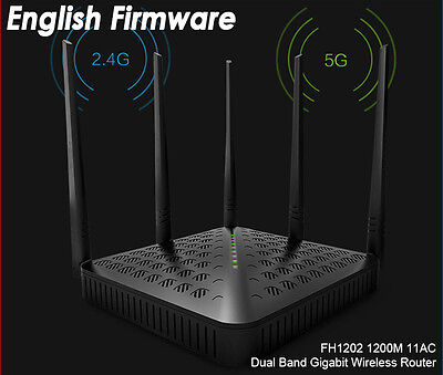 Tenda Router 802.11ac 1200Mbps Dual Band 2,4 GHz   5.0GHz WIFI Wireless