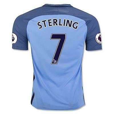 Manchester City Home jersey STERLING 7 for size Large