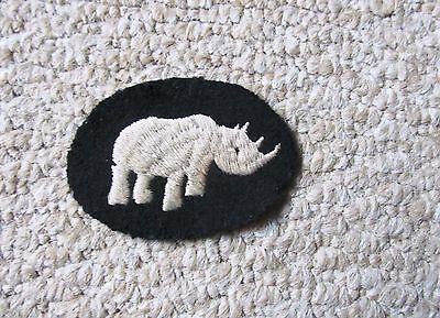 1st Armoured Division WW2 Embroidered Formation Sign Badge ORIGINAL