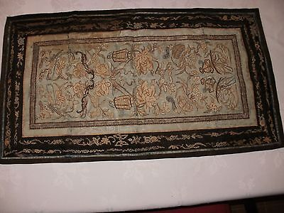 Chinese Silk Tapestry Antique