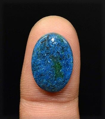10.05 Cts. 100 % Natural  Chrysocolla Oval Cabochon Untreated Loose Gemstones