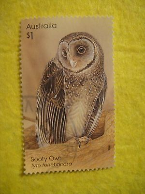 Australia 2016. Owls. Sooty.  $1 Sheet Stamp Used