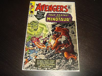THE AVENGERS #17  Silver Age Lee Heck Marvel Comics 1965 FN-