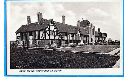 Thorpeness Near Leiston-  Almshouses  P/c By Un-Named Publisher Unposted