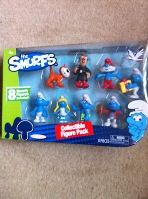 The SMURFS Collectible Figure Pack, Brand New & Boxed.
