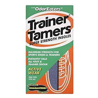 Odor-Eaters Trainer Tamers Insoles - Instantly Remove Foot & Trainer Odor