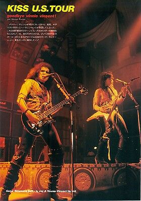Kiss - Clippings From Japanese Magazine Music Life 9/84