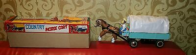 SELTEN ***Country Horse Cart ME 641 Made in China mit OVP ****