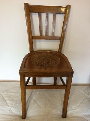Antique Marquetry French Chapel Chair