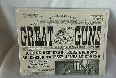 """ANDY PALMER'S """"GREAT GUNS"""" VOLUME III, NO. 7 from 1954"""