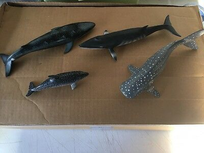 Schleich Whale Figures Toys Lot -