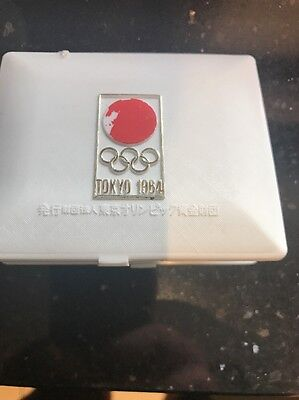 Orig.commemorative medal   Olympic Games TOKYO 1964 // in Box  !!  EXTREM RARE