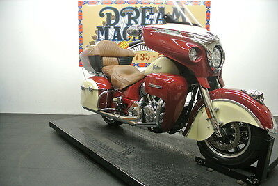 Indian Roadmaster  2015 Indian Roadmaster Red/Ivory Cream $23,970 Book Value* Finance