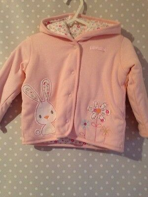 Baby Girls Thick Pink Jacket From Marks & Spencer