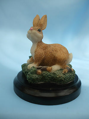 Collectable Rabbit Ornament on a Base