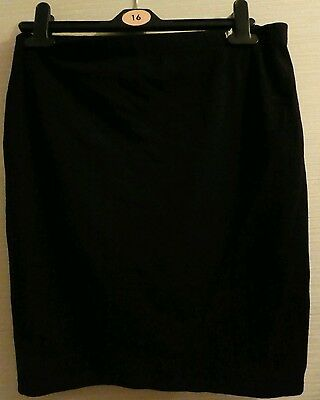 Black Asos maternity skirt