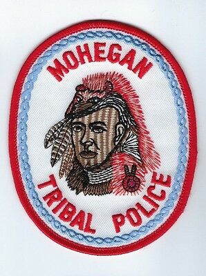 Mohegan Tribal Indian Police (Uncasville, CT Connecticut) patch - NEW!