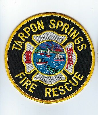 Tarpon Springs (Pinellas Co.) FL Florida Fire Rescue Dept. patch - NEW!
