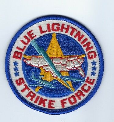 Blue Lightning Strike Force Narcotics Agents - Miami FL Florida patch - NEW!