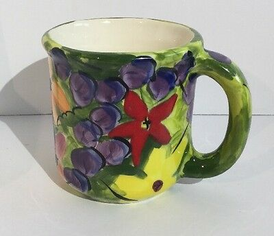 Hugo Quattrocchi Coffee/Tea Cup Canada Artist Signed & Numbered Stunning & RARE