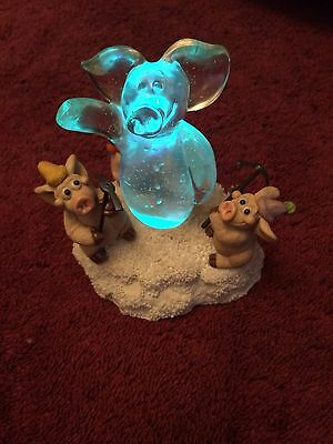 Piggin' Ice Christmas .Musical Only £2.99 Start No Reserve Look.changes Colours