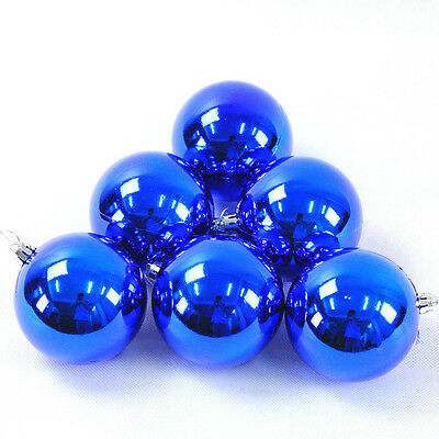 6Pc Christmas Balls Baubles Party Xmas Tree Decor Hanging Ornament Decor Gift BU