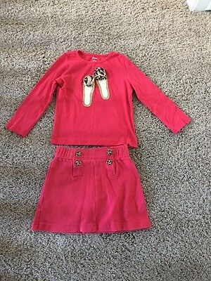 Gymboree Girls Skirt And Shirt Outfit Size 4, 5