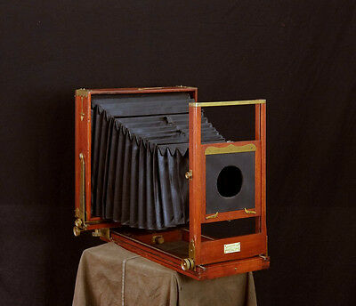8x10 'Improved Empire State' large format Plate Camera Holzkamera Wet Plate