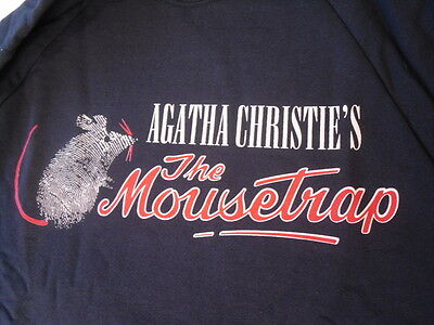 Agatha Christie - The Mousetrap - Retro Sweatshirt - New
