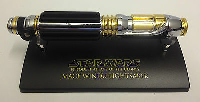 SW-302 Star Wars Lightsaber .45 Master Replicas Mace Windu AOTC