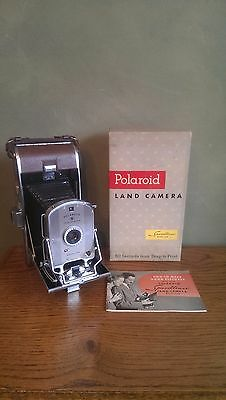 Vintage Polaroid Speedliner Land Camera Model 95A With Original Box