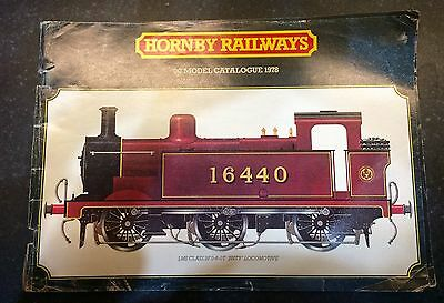 Hornby 24th 1978 Edition Catalogue