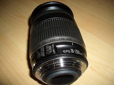 Canon EF-S 18-200 mm F/3.5-5.6 IS Objektiv IMAGE STABILIZER