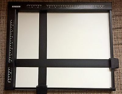Kaiser 4001 - Darkroom Masking Frame 24 X 30 Cm  - Metal Frame - Made In Germany