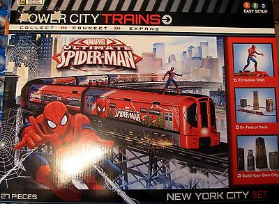Power City Trains  Marvel Ultimate  SPIDER-MAN  New York City Set