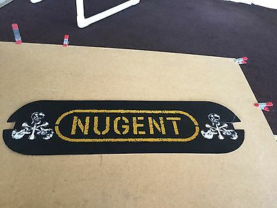 Ted Nugent   Wall display sign