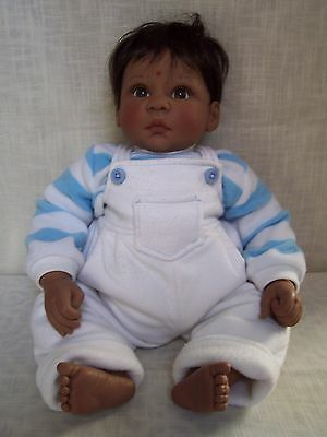 Lee Middleton India Indian Children Of World Doll Signed Reva Numbered 235/1000