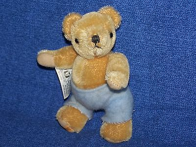 Sweet Little Merrythought Baby Teddy Bear, With Labels.
