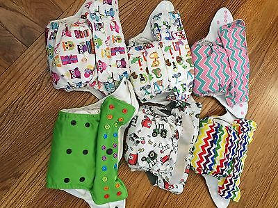 one size cloth diaper lot