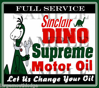 Sinclair Dino Decal Northwestern Gumball Machine