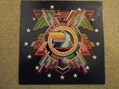 "Hawkwind 12"" LP Vinyl - X In Search Of Space"